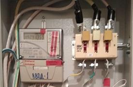 Ремонт электрики в домах по адресам в домах по адресам: ул. Делегатская, 35а и ул. Делегатская, 35б