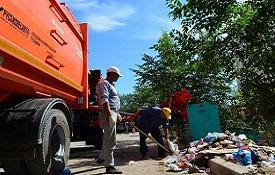 С 1 января 2019 за уборку контейнерной площадки отвечает региональный оператор
