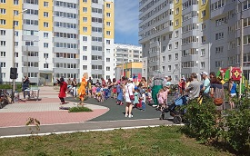 Летний праздник для жителей ЖК «Медовый»