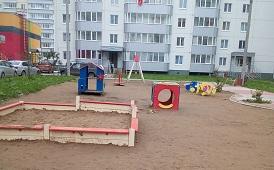 Ремонтные работы в доме по адресу ул. Красавинская, 6
