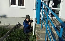 Ремонт ливневой канализации и установка ограждения на придомовой территории по адресу ул. Целинная, 45