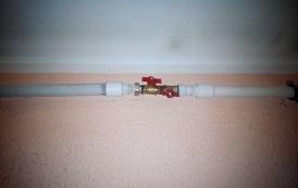 Замена  и дополнительная установка кранов на систему циркуляции  ГВС в доме по адресу ул. Делегатская, 45