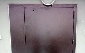 Замена входной двери в доме по адресу ул. Делегатская, 35
