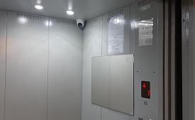 Установка камер наблюдения в доме по адресу ул. Целинная, 45