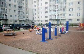 Установка спортивной площадки по адресу ул. Делегатская, 35а