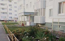 Установка ограждения на придомовой территории по адресу ул. Красавинская, 2 и 4