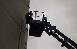Замена ламп наружного освещения в доме по адресу ул. Артемьевская, 1
