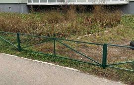Восстановление газонного ограждения по адресу ул. Делегатская, 35а