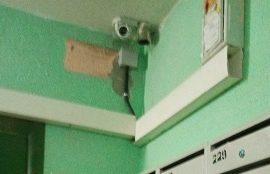 Установка камер видеонаблюдения в доме по адресу ул. Цимлянская, 23