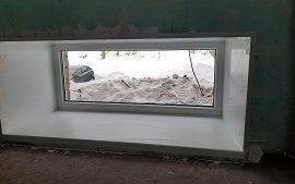 Замена оконных блоков в доме по адресу ул. Кавалерийская, 17