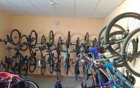 Система хранения велосипедов в доме по адресу ул. Кронштадтская, 43