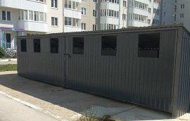Монтаж контейнерной площадки по адресу ул. Целинная, 45, 47, 47а