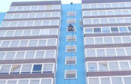 Помывка окон дома по адресу ул. Кронштадтская, 45