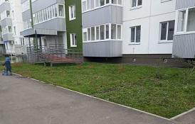 Покос травы на придомовых территориях