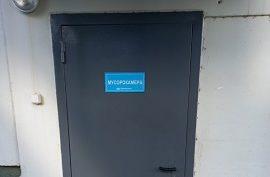 Покраска дверей в доме по адресу ул. Красавинская, 6