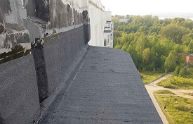 Ремонт и герметизация балконных козырьков