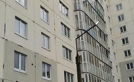 Замена светодиодных фонарей на придомовых территориях