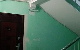 Косметический ремонт подъезда в доме по адресу ул. Делегатская, 39А