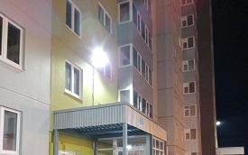 Замена ламп уличного освещения на придомовой территории по адресу ул. Строителей, 7