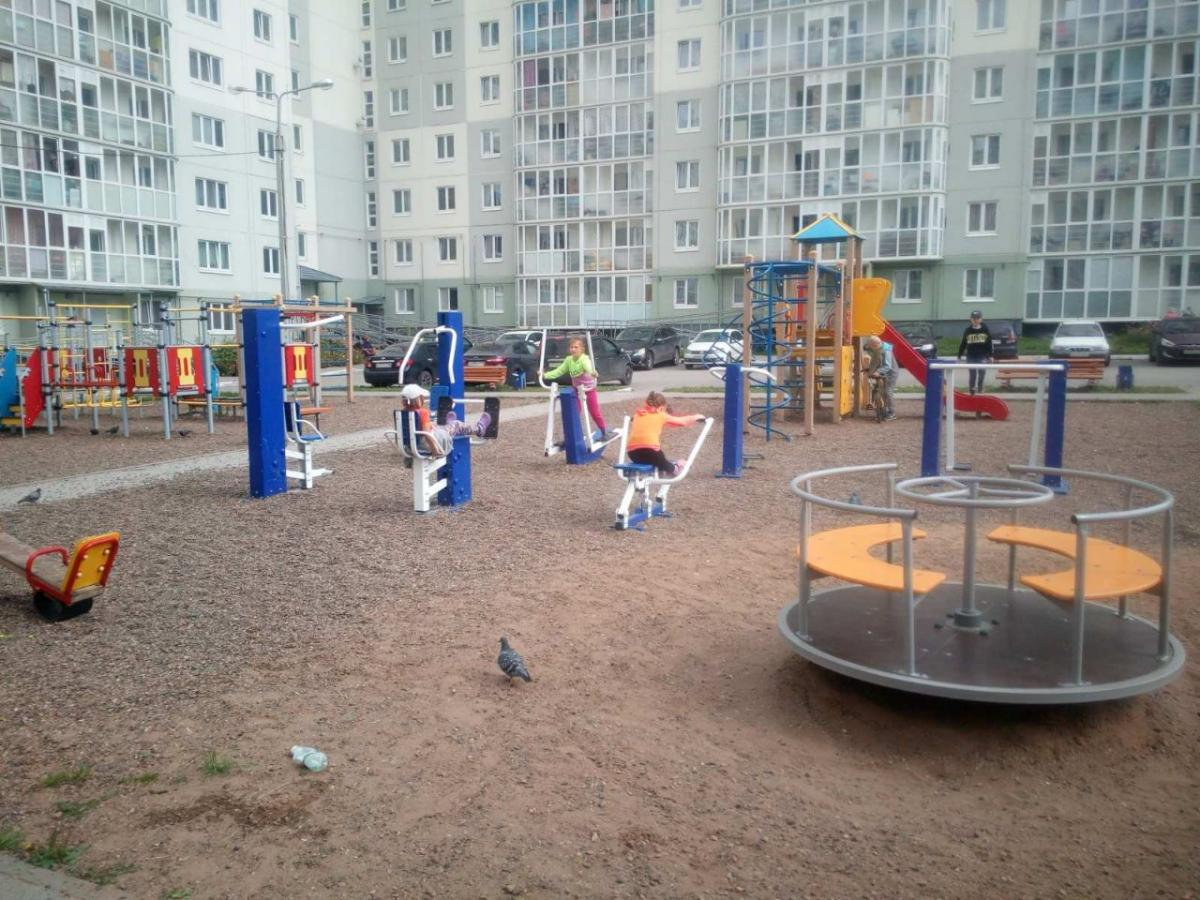 Установка спортивной площадки на придомовой территории